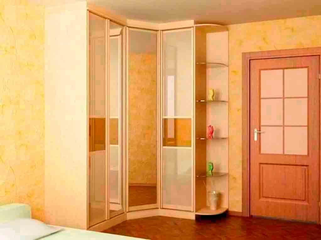 Купить маленькую спальню угловым шкафом - спальня с угловым .